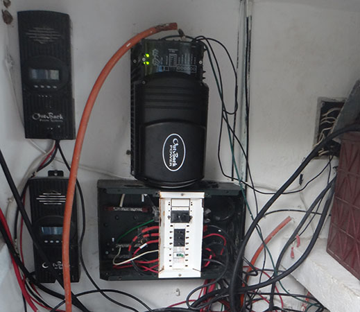 New inverter and charge controllers