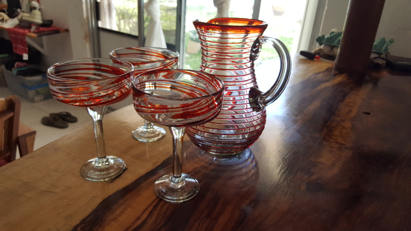 Handblown Roberita Glasses
