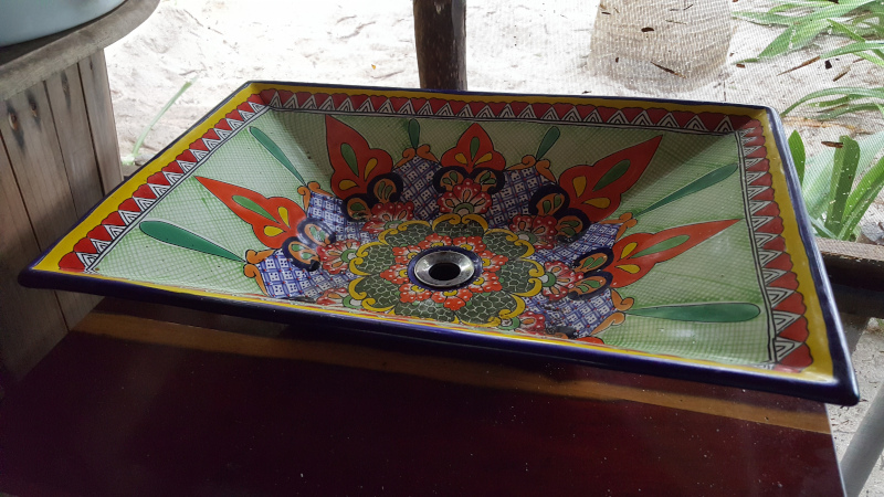 New sink in the Palapa