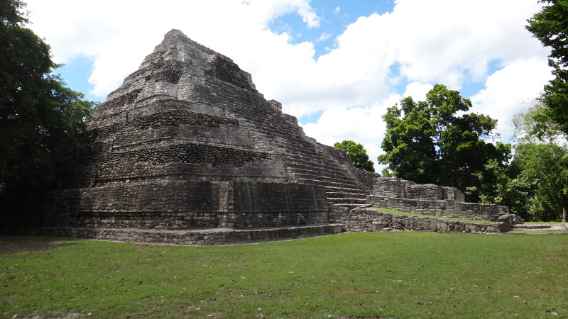 Templo 1 at Chacchoben