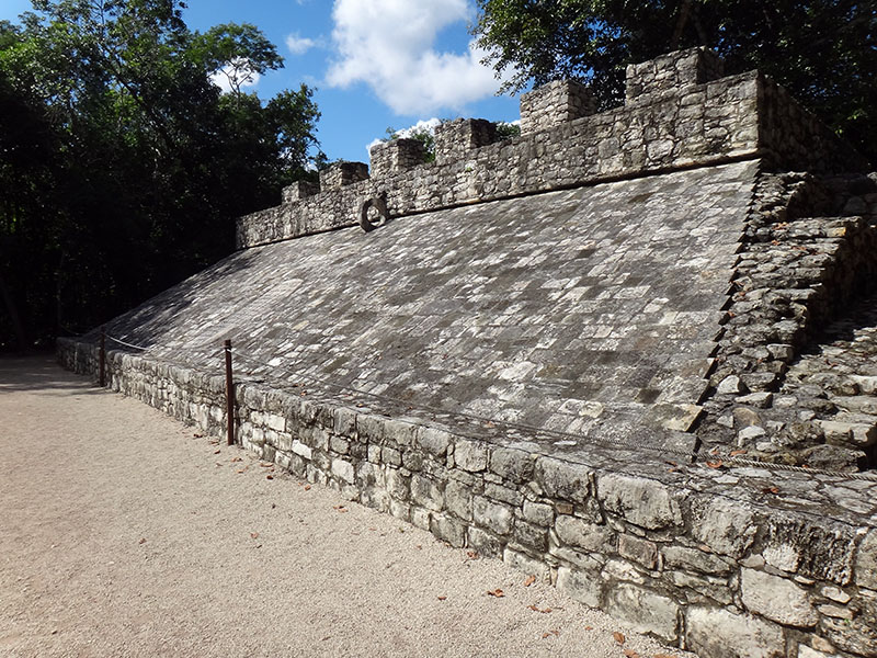 Ball Court in Coba