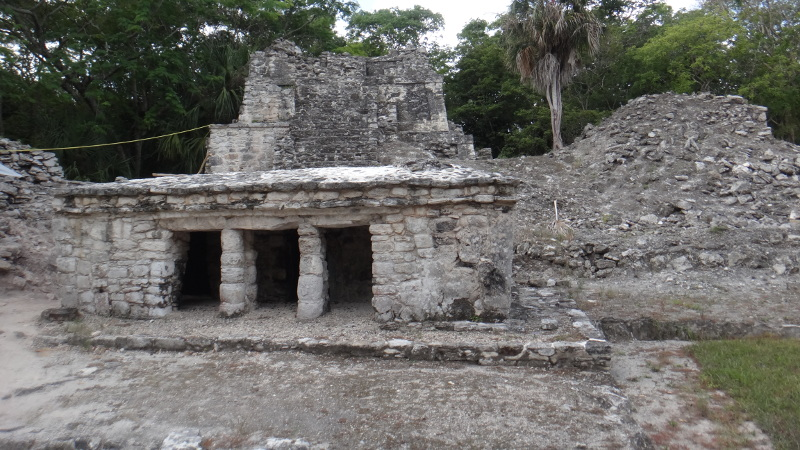 Newly excavated temple