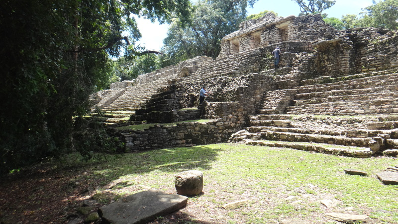 Small Acropolis at Yaxchilan