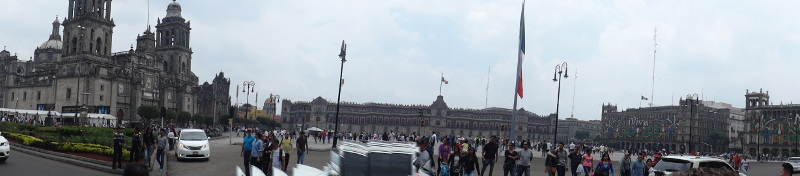 Panorama of the Zocalo