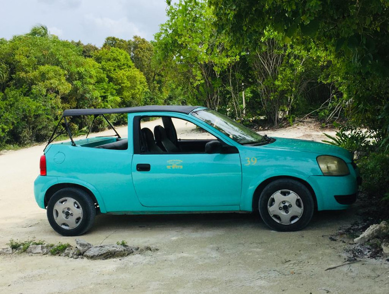 This is the cheapest rental car on the island