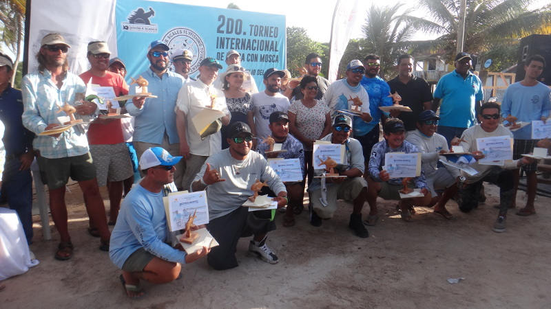 Silver Scales Fly Fishing Tournament participants
